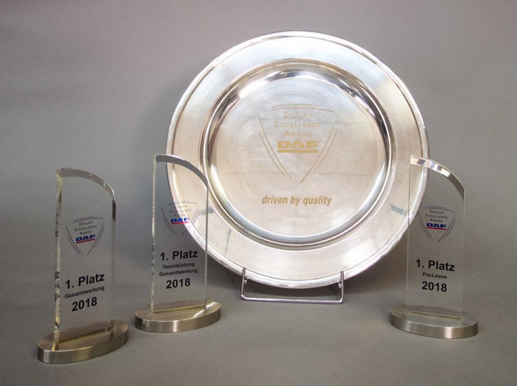 EBB DAF Dealer Excellence Award